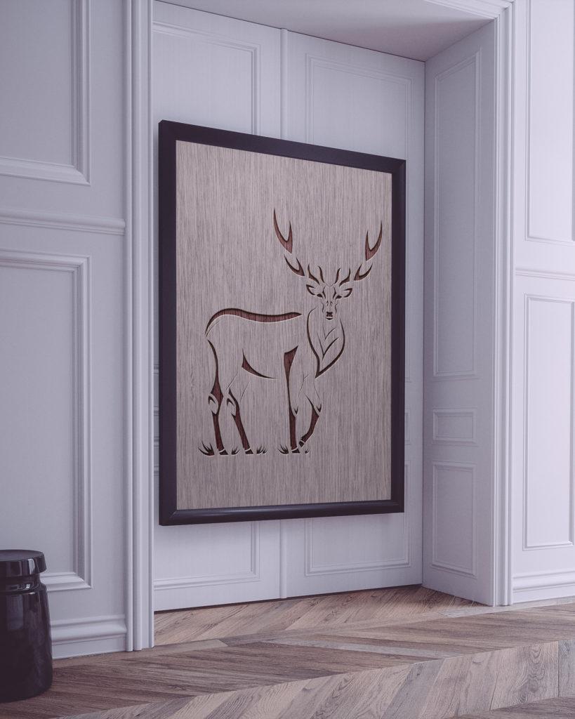 Deer Vertical